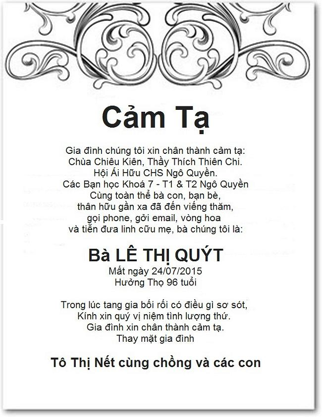 Cam ta 4 Net Mother